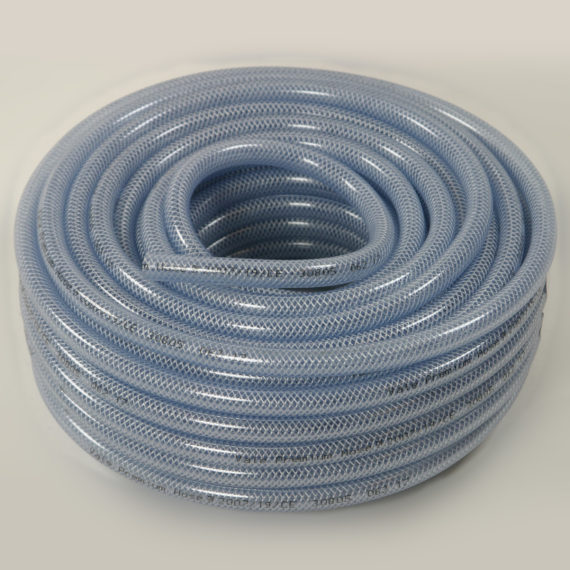 Clear Braided PVC Hose