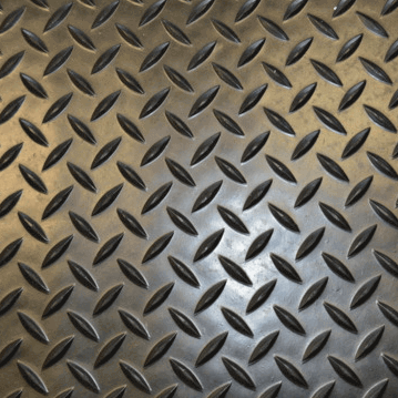 Single Bar Checker Plate Matting